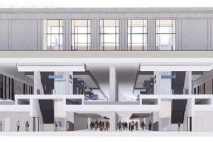 Tak pracownie Kuryłowicz & Associates i Torprojekt widzą warszawską linię średnicową. Hołd dla modernizmu?