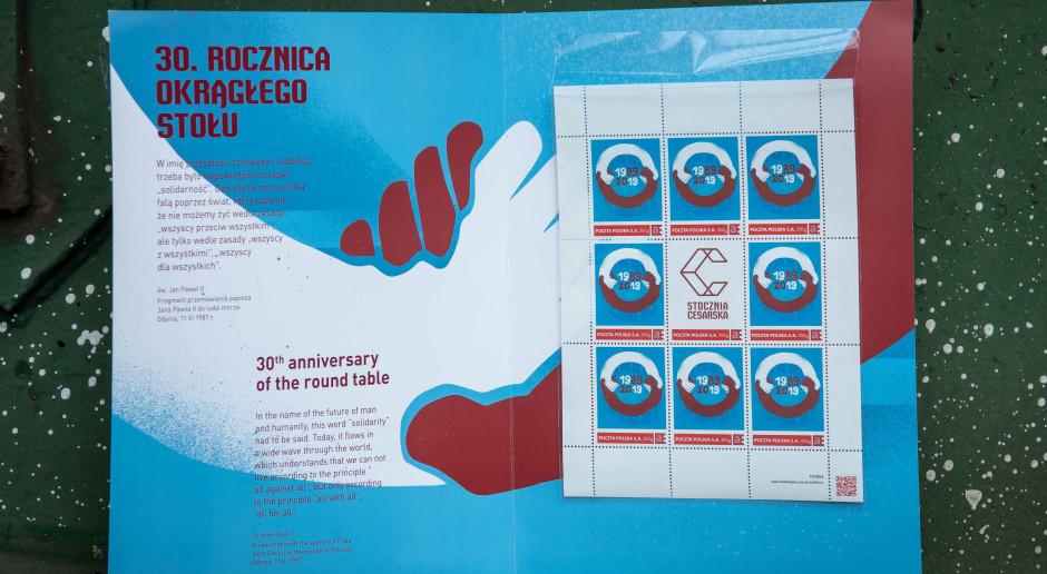 Stocznia Cesarska wydaje limitowaną serię znaczków pocztowych
