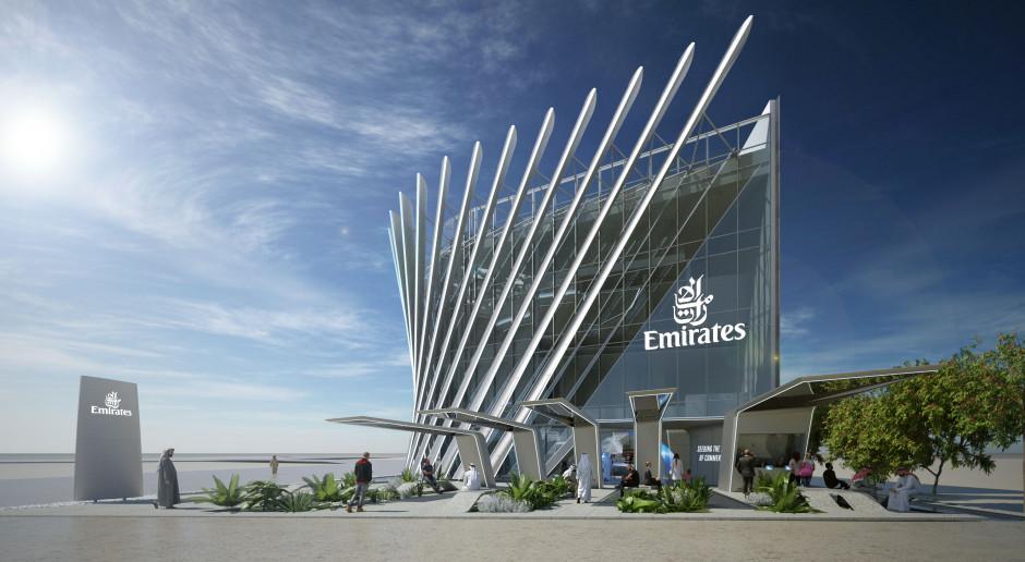 Oto pawilon linii Emirates na Expo 2020 w Dubaju. Wizjonerski projekt?