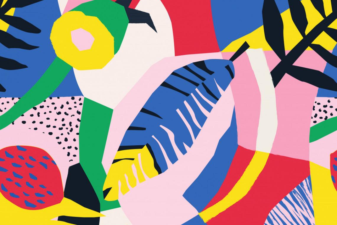 Tkaniny inspirowane naturą i malarstwem