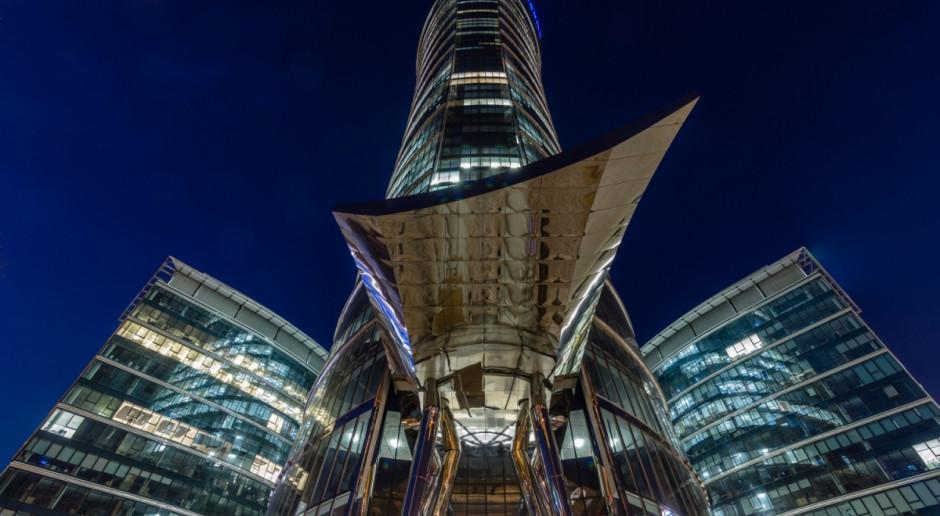 Warsaw Spire i plac Europejski z niespodziankami na Noc Muzeów