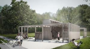Rozpoczęła się budowa tężni na Łąkach Nowohuckich w Krakowie
