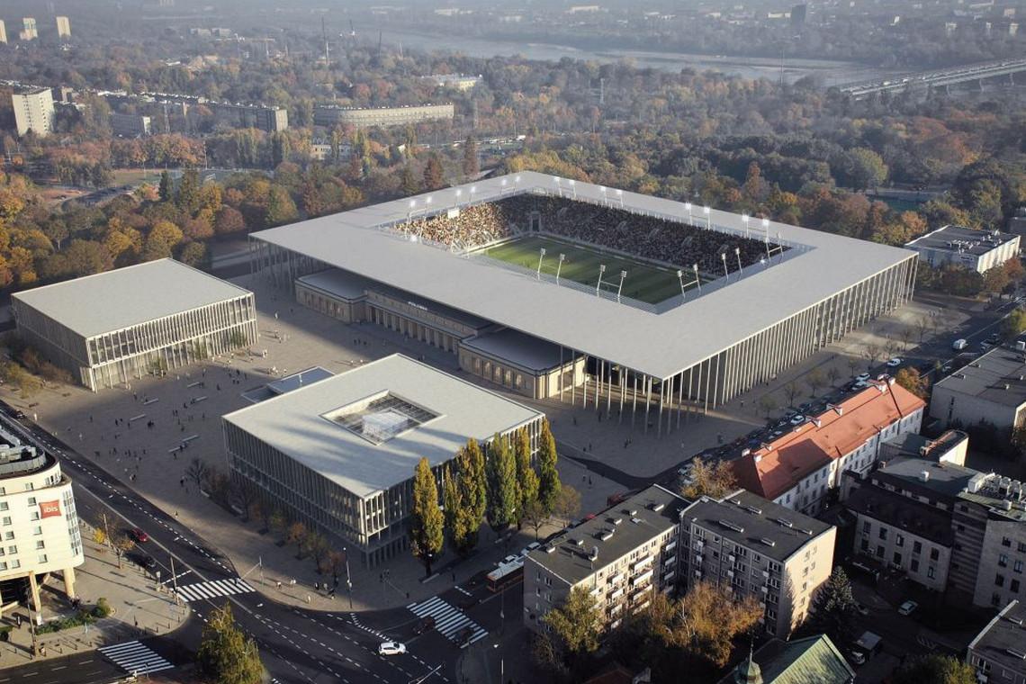 Nie powstanie nowy stadion Polonii? Władze Warszawy zawiesiły pracę