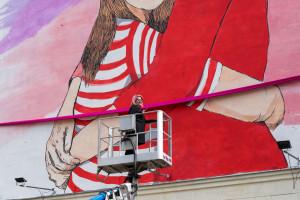 Warszawski mural w ważnej sprawie