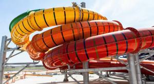Dwa lata temu ruszyła budowa parku Suntago Wodny Świat. Zobacz, jak dziś wygląda powstający park wodny