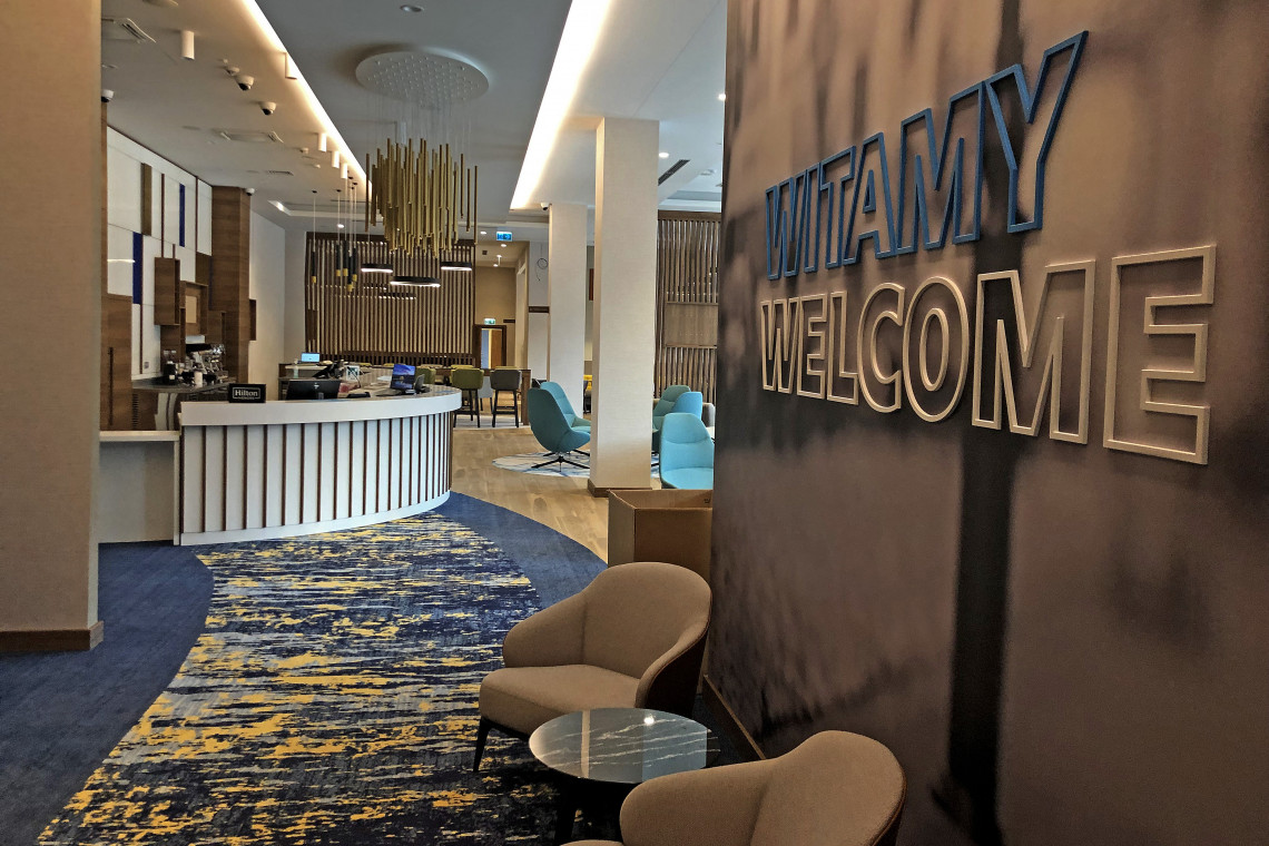 Projekt wnętrza hotelu to praca na wielu płaszczyznach. O Hampton by Hilton Kalisz z architektem