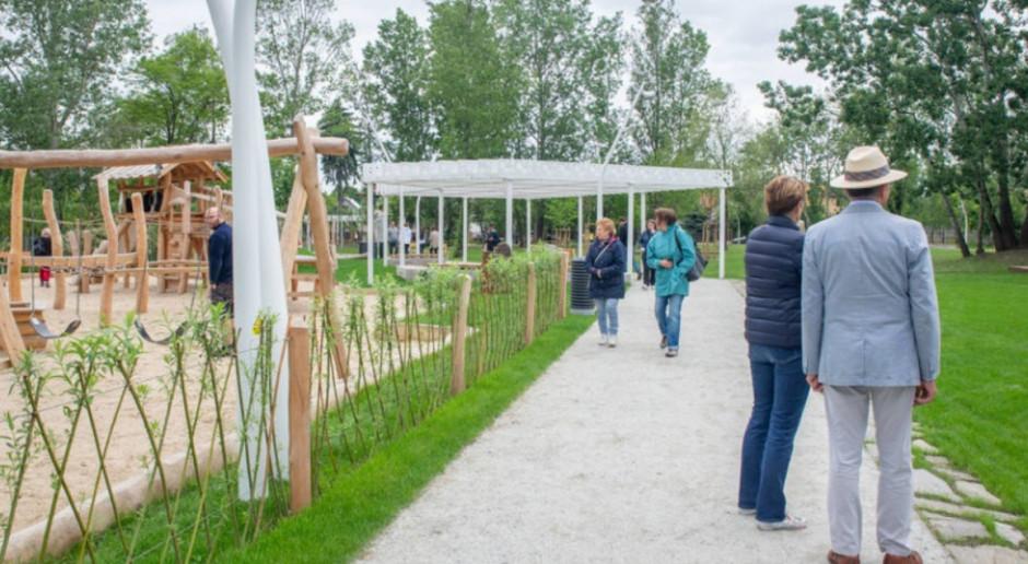 Pierwsza część EKOparku w Ursusie już otwarta