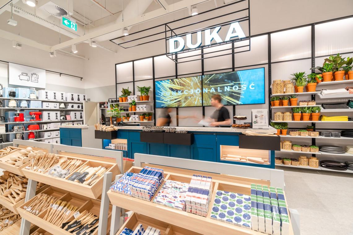 Studio 1:1 projektuje dla marki Duka. Oto najnowszy koncept salonu Duka, a w planach reotwarcia!