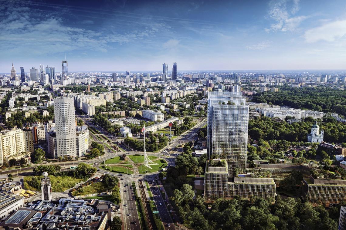 Przy warszawskiej Arkadii wyrasta Forest. To projekt HRA Architekci