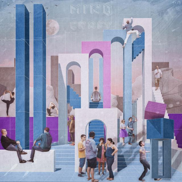 Sikora Wnętrza laureatem międzynarodowego konkursu! Projekt à la Minecraft eliminuje... samotność