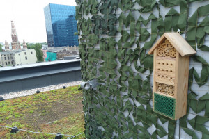 OFF Piotrkowska Center z hotelem dla... dziko żyjących owadów