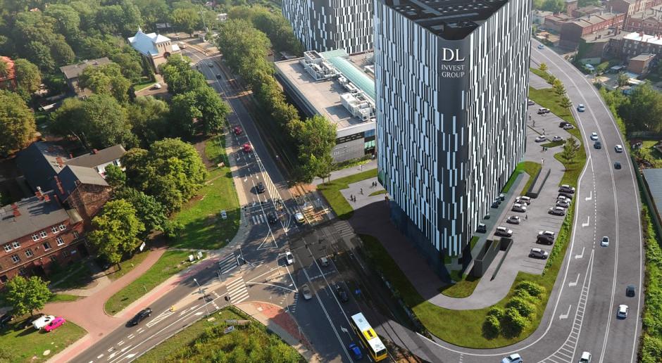 Kolejne biurowe bryły w Katowicach od DL Invest Group