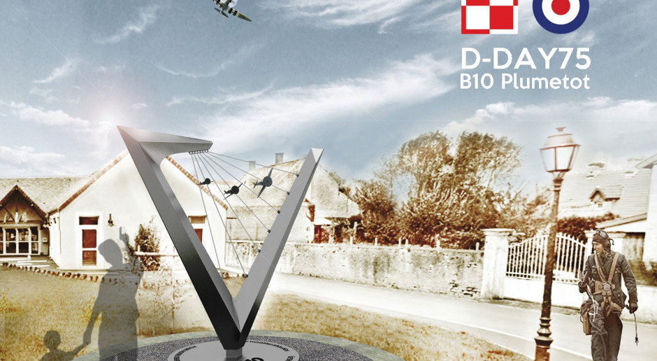 Nowa rzeźba Alexandra Smagi. Inspirowana jest pasją i bohaterstwem lotników