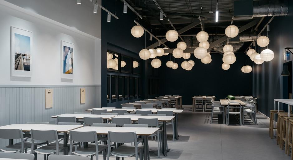 Bajkowa natura Szwecji, morze Bałtyckie i las. Nowa restauracja IKEA Targówek zachwyca motywami i designem