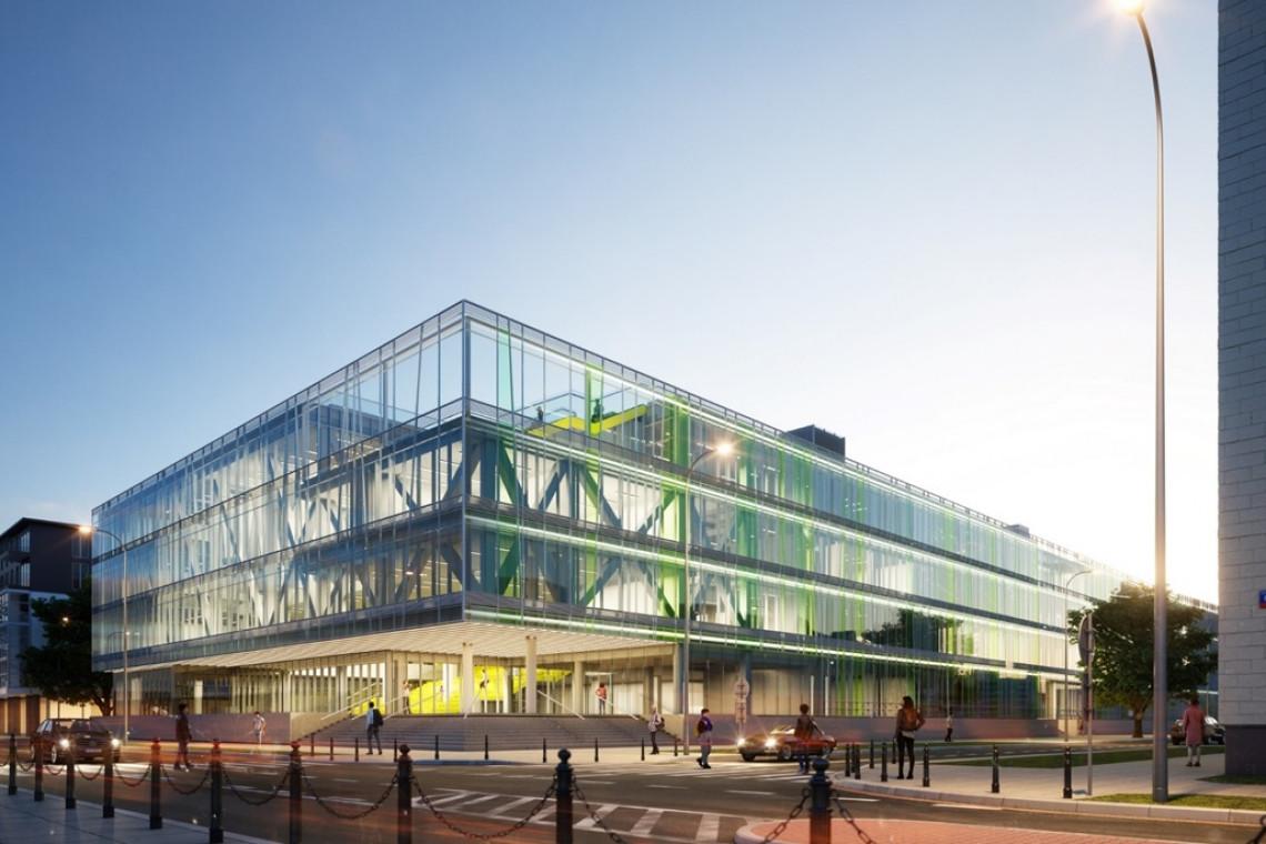 Nowy budynek dla Uniwersytetu Warszawskiego. Projekt Kuryłowicz & Associates już z wykonawcą