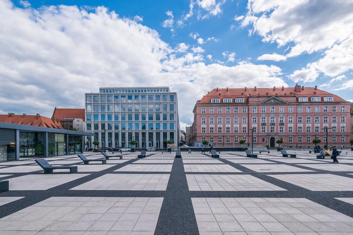 Zbigniew Maćków opowiada o projektowaniu Nowego Targu we Wrocławiu