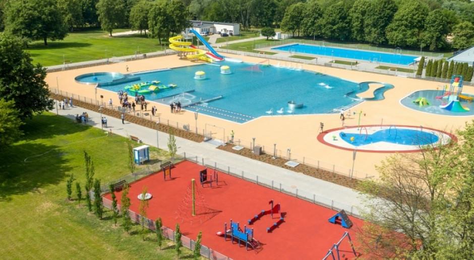Wielkie otwarcie Parku Wodnego Moczydło w Warszawie