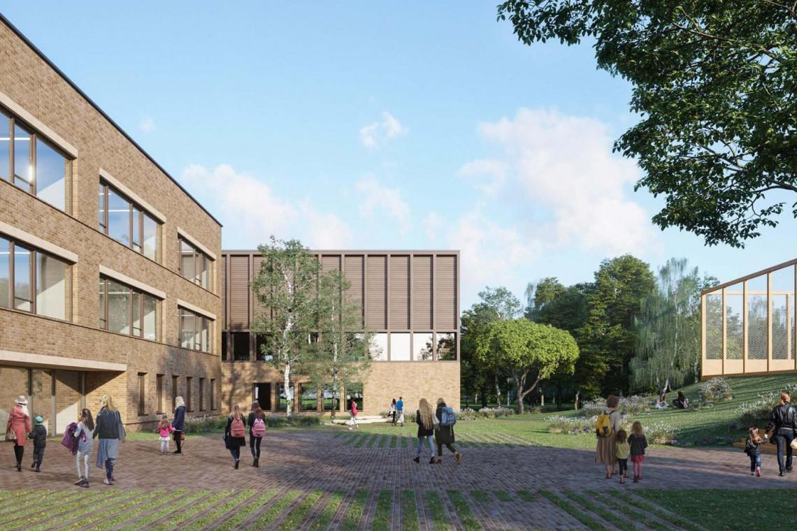 Na warszawskim Wilanowie powstaje nowa szkoła.  To będzie piękna i nowoczesna placówka