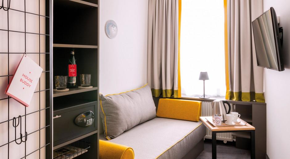 Miejski styl, lokalny duch i przytulność - takie są wnętrza Vienna House Easy Cracow autorstwa austriackiej pracowni