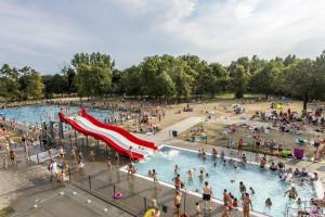 Pływalnia w poznańskim parku Kasprowicza zachwyca w nowej odsłonie