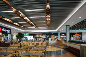 Nowy food court w Galerii Mazovia. To wioślarstwo zainspirowało architektów z vsf-creative