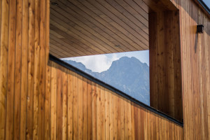 Oto najnowszy projekt pracowni Karpiel Steindel Architektura. Nawiązuje do architektury domów góralskich