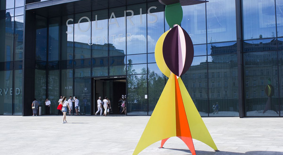 Niezwykła instalacja artystyczna uświetniła otwarcie galerii Solaris Center po rozbudowie