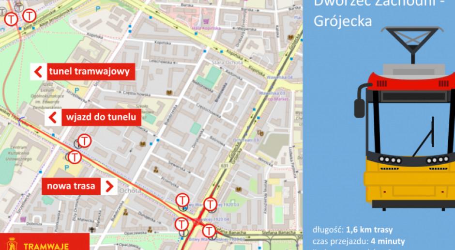 Kolejny etap największego w Polsce projektu tramwajowego, czyli budowy linii do Wilanowa