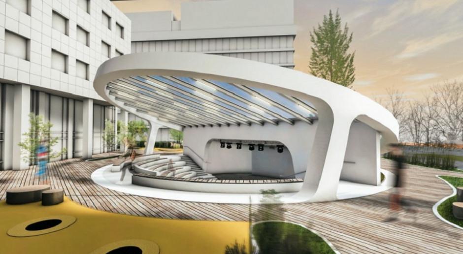 Amfiteatr przy Adgar Bit z pozwoleniem na budowę. To dzieło pracowni mode:lina