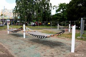Hamaki miejskie pojawiły się w centrum Gdyni