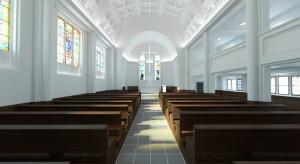 Niezwykła rewitalizacja kościoła w duchu minimalizmu. hanczarstudio nie boi się wyzwań