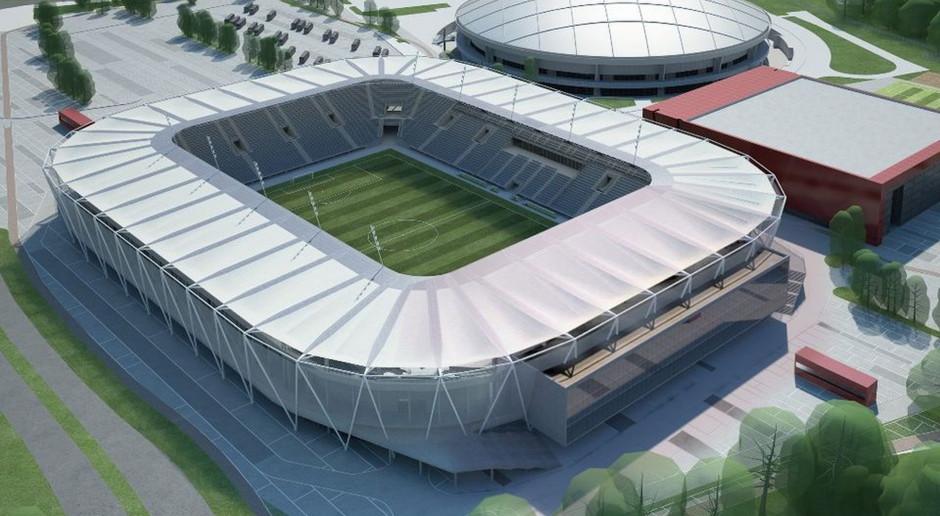 Łódź buduje stadion ŁKS. Trwają prace projektowe, a we wrześniu ruszy budowa