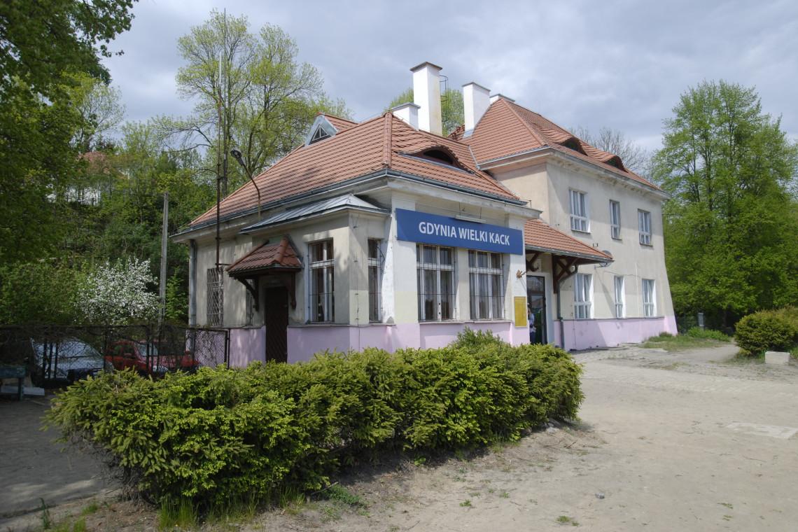 Dworzec w Wielkim Kacku trafił do rejestru zabytków