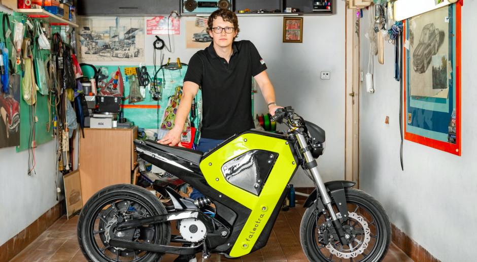 Dzięki drukowi 3D powstał pierwszy polski motocykl elektryczny