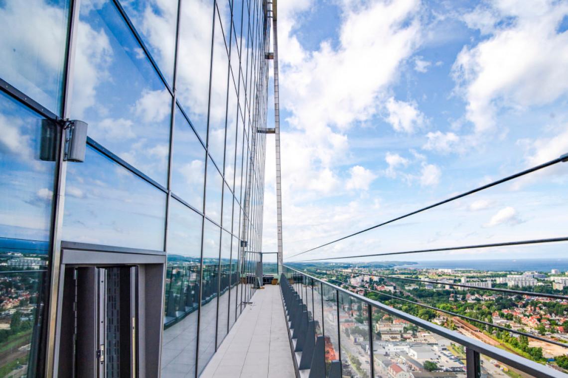 Olivia Star i najwyższy punkt widokowy w Polsce Północnej już otwarte