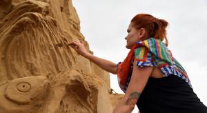Poznańskie rzeźby z piasku już gotowe