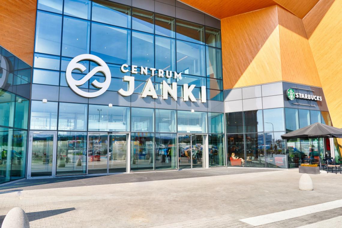 Centrum Janki po modernizacji i zmianie identyfikacji wizualnej