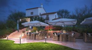Jak zaprojektować ogrodowe oświetlenie?