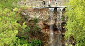 Wodospad na Kadzielni to nowa atrakcja Kielc