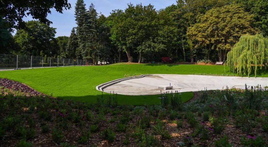 Ogród wodny w Poznaniu odzyskuje blask