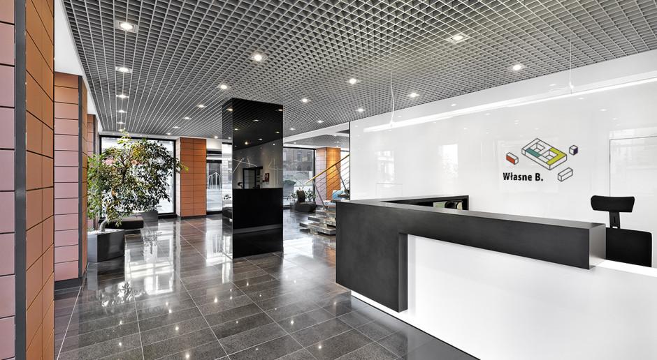 To najwyżej położone biura w Łodzi. Własne B. z architektami Centrum IKEA dla Firm zaprojektowali wnętrze