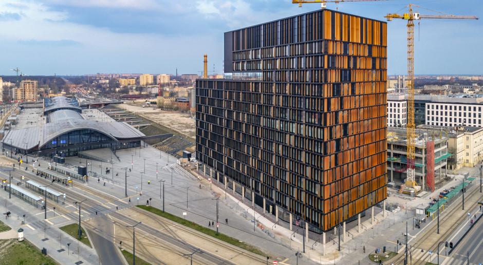 Wizytówka Nowego Centrum Łodzi szkicu medusa group. Brama Miasta walczy o Prime Property Prize 2019