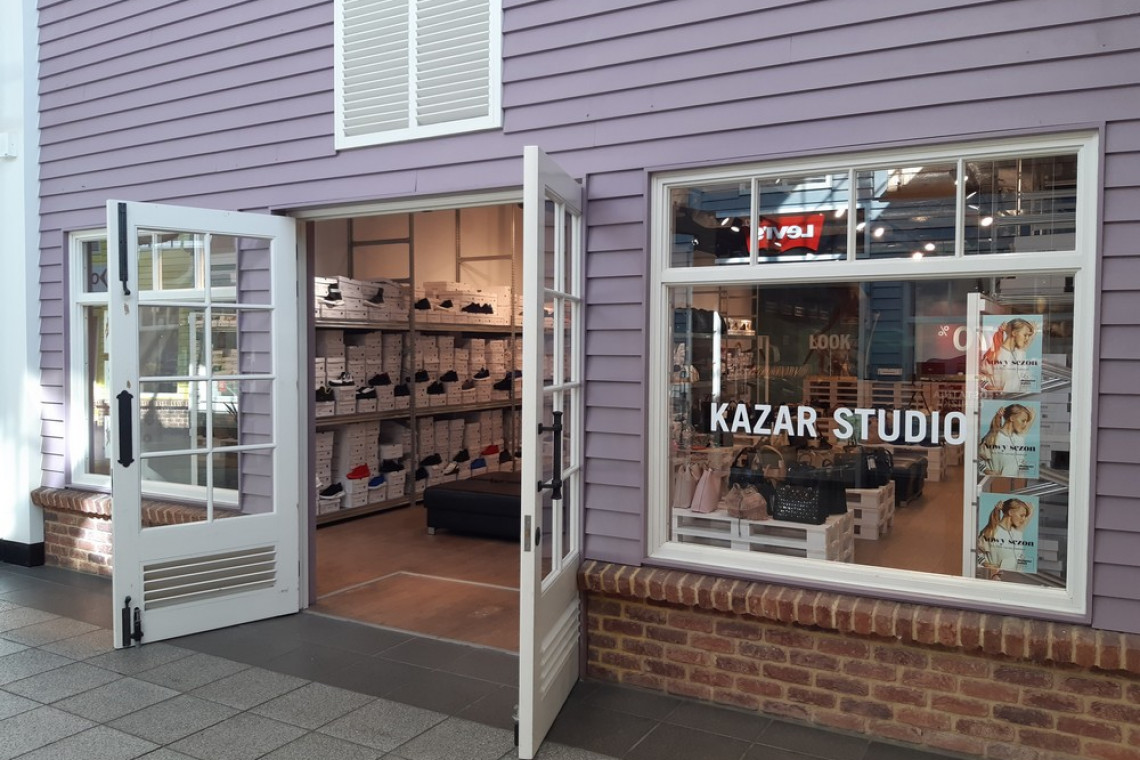 Pop-up store Kazar w Designer Outlet Gdańsk