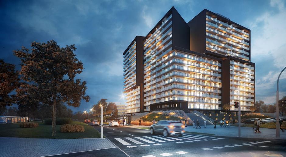 Bryła Atal Warta Towers zmienia krajobraz Poznania. To projekt AP Szczepaniak