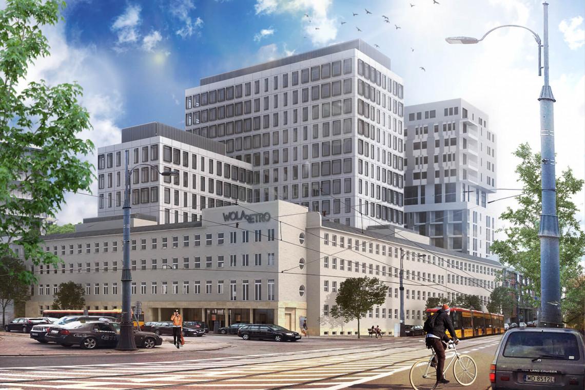 Warszawski biurowiec projektu Kuryłowicz & Associates już gotowy