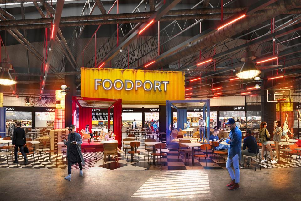 Galaxy w Szczecinie zyska nową przestrzeń gastronomiczną. To projekt MIXD-Interior Experience Design