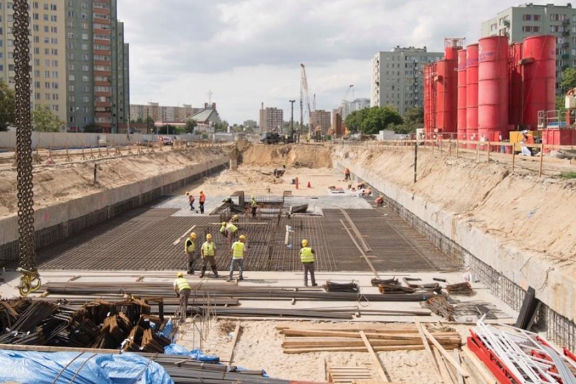 Ważny etap budowy metra na Bródnie