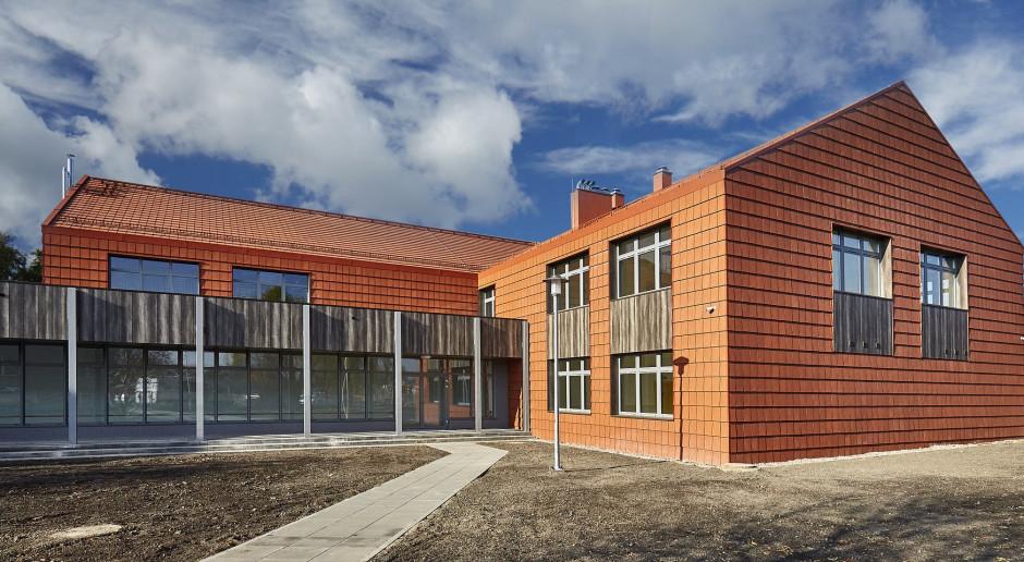 Oryginalne rozwiązanie architektoniczne w polskiej szkole