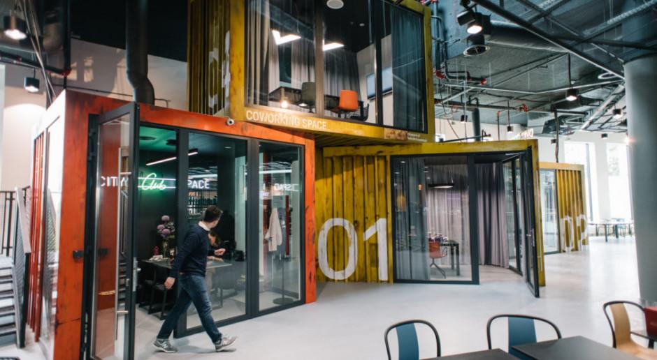 Coworking w galerii handlowej. Projekt CitySpace Club Młociny doceniony