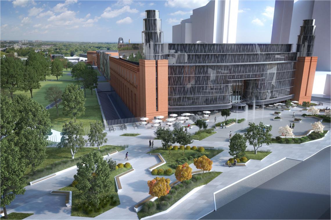 Pracownia 1050 szkicuje Plac Starego Browaru. Poznańskie centrum handlowe przygotowuje nową inwestycję